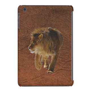 Faux Leather & African Lion Device Case