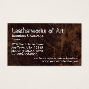 Antique jewelry business cards templates zazzle faux leather business cards reheart Images