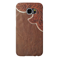 Faux Leather Western Style SAMSUNG GALAXY S6 CASE