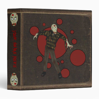 Faux Leather Zombie Binder