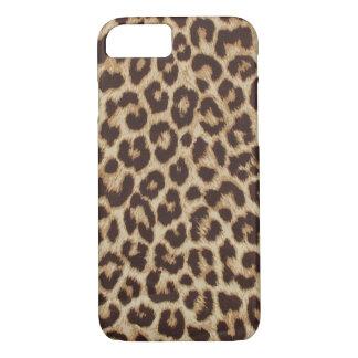 Faux Leopard Fur iPhone 8/7 Case
