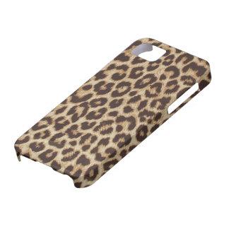 Faux Leopard Fur iPhone SE/5/5s Case