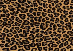 e5e785ef54 faux leopard print cloth placemat