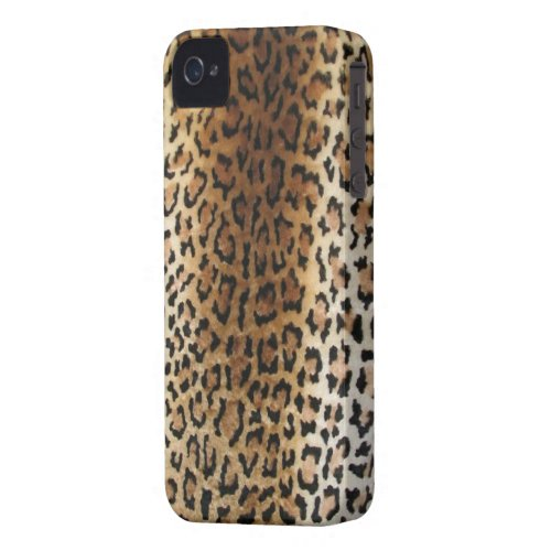 faux Leopard Print iPhone 4/4S Case casematecase