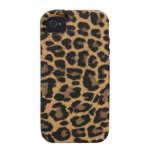 faux leopard print iPhone 4/4S cases