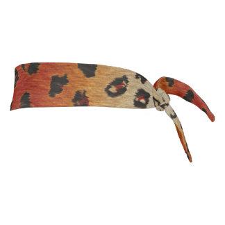 Faux Leopard Spots Tie Headband