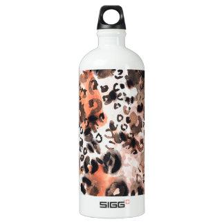 Faux Leopard Watercolour SIGG Traveler 1.0L Water Bottle