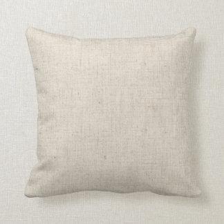 Faux Linen & Handmade Paper Pillow