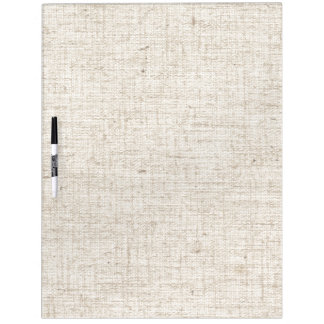 Faux Linen Texture Fabric Dry Erase Board