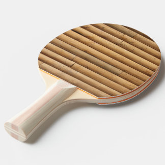 Faux Log Cabin Siding Ping-Pong Paddle