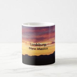 Faux Lordsburg New Mexico Sunset Mug