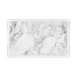 Faux Marble Acrylic Tray