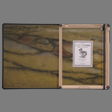 Faux marble look iPad cases