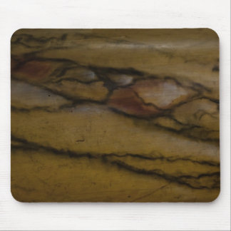 Faux marble look mouse pad