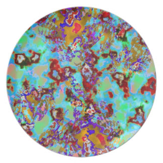Faux Marble Plate
