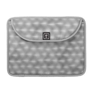 Faux Metal - Brushed Steel Sleeve For MacBooks