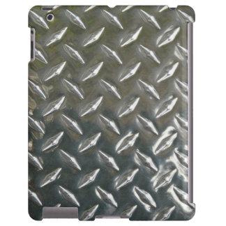 Faux Metal Checkerplate Look
