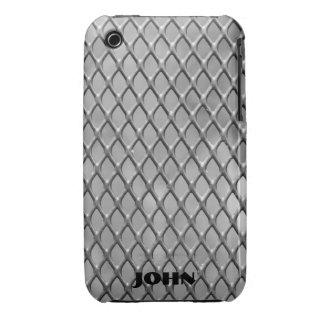 Faux Metal Mesh iPhone 3 Case