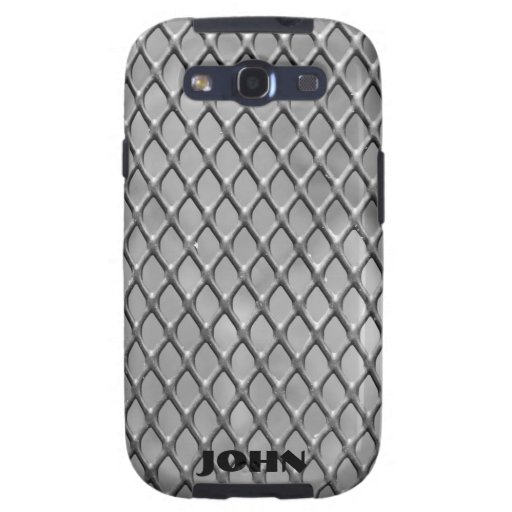 Faux Metal Mesh Samsung Galaxy S3 Case