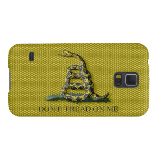 Faux Metal Style Dont Tread On Me Gadsen Flag Case For Galaxy S5
