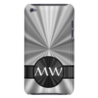 Faux metallic monogrammed iPod touch Case-Mate case