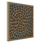 Faux Mosaic Abstract Canvas Wall Art
