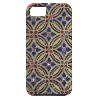 Faux mosaic tile pattern stone glass photo Morocco iPhone SE/5/5s Case