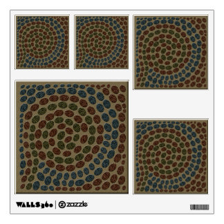 Faux Mosaic Tile Wall Decals