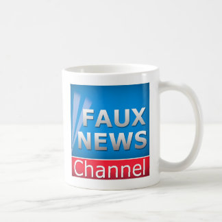 Faux News Channel Coffee Mug