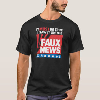Faux News (on Dark) T-Shirt