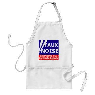 Faux Noise Serving the Corporate Agenda Adult Apron