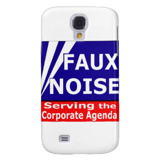Faux Noise Serving the Corporate Agenda Samsung Galaxy S4 Covers