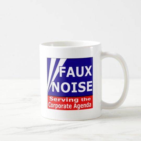 Faux Noise Serving the Corporate Agenda Coffee Mug