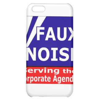 Faux Noise Serving the Corporate Agenda Cover For iPhone 5C