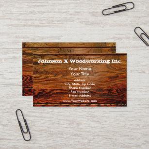 Faux Wood Business Cards Zazzle