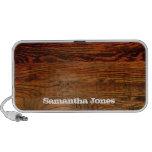 Faux Oiled Wood Plank Personalized Custom Mini Speaker