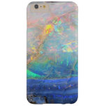 Faux opal gem gemstone mineral bling bokeh hipster barely there iPhone 6 plus case