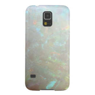Faux opal gem gemstone mineral photo bokeh hipster case for galaxy s5