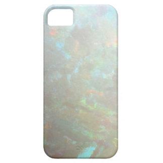 Faux opal gem gemstone mineral photo hipster bokeh iPhone SE/5/5s case