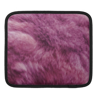 Faux Pink Cat Fur iPad Sleeve