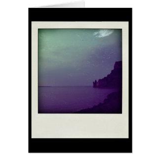 Faux-Polaroid - Mont Saint Michel Greeting Card