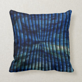 Faux Puckered Throw Pillow
