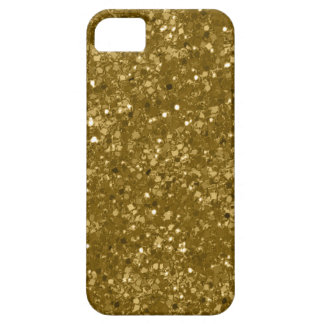 Faux Pure Gold Glitter iPhone 5 Cover