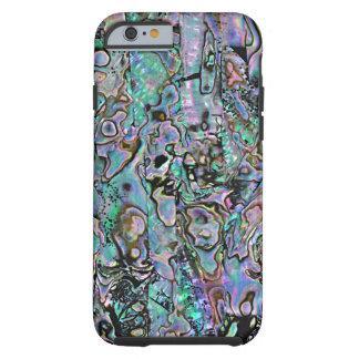 Faux Purple Blue Turquoise Sea Shell Pattern Tough iPhone 6 Case