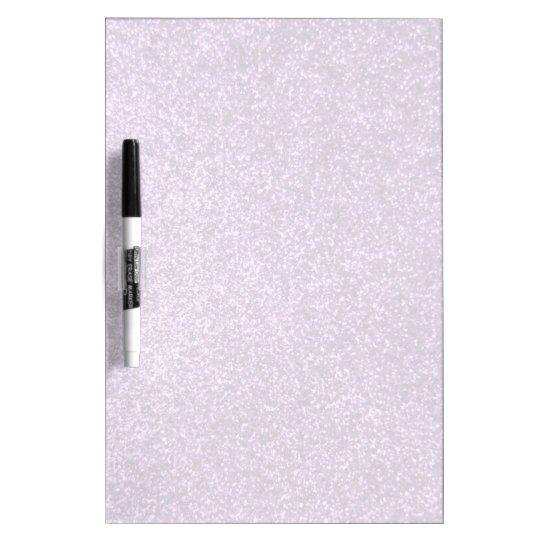Faux Purple Glitter Dry Erase Board
