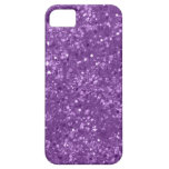 Faux Purple Glitter iPhone 5 Case