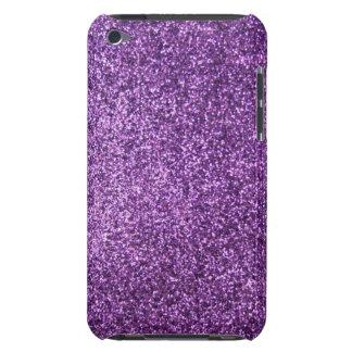 Faux Purple Glitter iPod Touch Case
