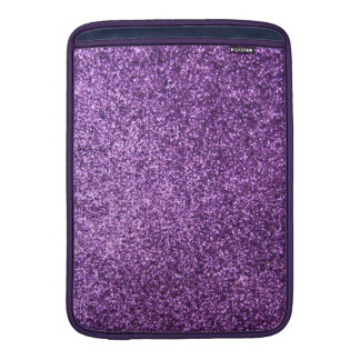 Faux Purple Glitter Sleeves For MacBook Air