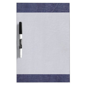 Faux Purple Leather Texture Dry-Erase Board