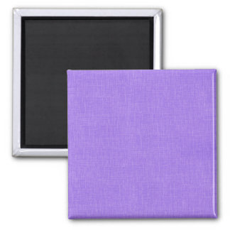 Faux Purple Linen Fabric Textured Background Fridge Magnet